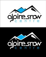 alpine Snow Centre - logo fina by thinkLuke