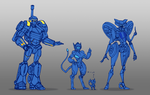 TFOC Lineup progress! by kiwifluff