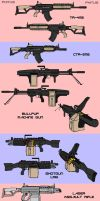 New Gun Concepts by PhiTuS