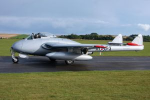 de Havilland Vampire FB.6 by Daniel-Wales-Images