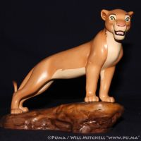 1999 WDCC The Lion King 5th Anniv. Adult Nala by dapumakat