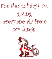 Merry the Holiday Dragon 2011 by Moose15
