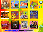 Top 12 TV and Youtube Shows by WageBabo12