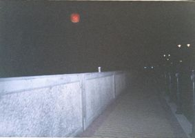 Red moon at Hornsey by Erkillers