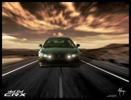 CRX Del Sol Booting It by MugenB16