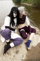 Orochimaru and Kabuto cosplay by InrasTEO