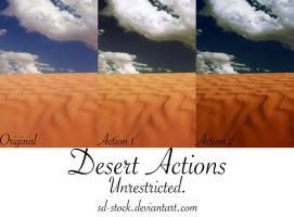 Desert Actions by sd-stock