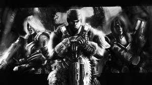 Gears of War 3 by Space-Horror