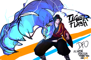 Dungeon Fighter Online - Male Nen Master by just--INK