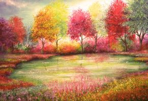 Colours of Life by AnnMarieBone