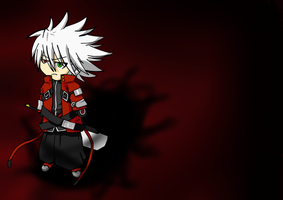 Ragna The Bloodedge (CHIBI) by mangaxai