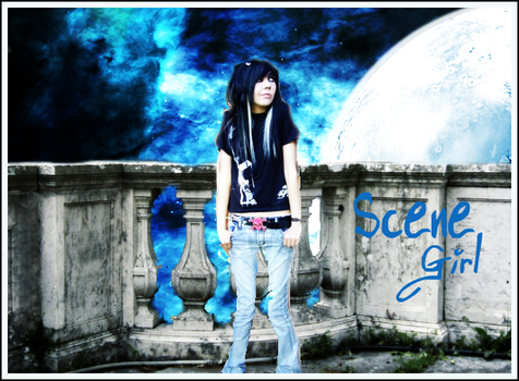 Scene Girl by Extince