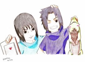 Itachi and Sasuke by soul-espada