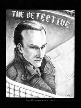 The Detective - Odd 6 Interior by GoldeenHerself