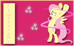 Fluttershy Wallpaper by marky1212