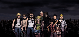 Zombie Apocalypse - Survivors by rayn44