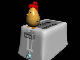Ticking time chicken by Rob54613