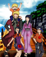 The family Uzumaki by scrik