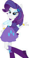 Equestria Girls: Rarity by TheShadowStone