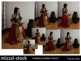 Holiday Goddess Pack 1 by mizzd-stock