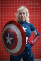 Captain America by SilverKhaleesi