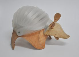 armadillo lamp 01 by TheAf