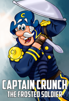 Captain Crunch - The Frosted Soldier by HighwaterTrousers