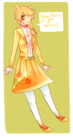 Golden Mosiac at your service! by WinterCamellia