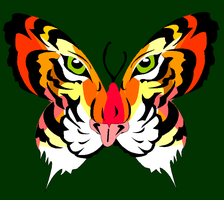 Tiger Butterfly by city-shuffle