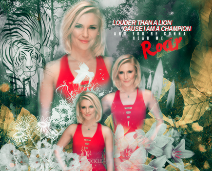 _Roar_ReneeYoung_Blend by TheNightingale01