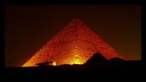 Red Pyramid by Boofunk