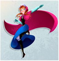 Princess Anna by geryri