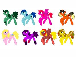Free Pony Adopts #3 .:SOLD OUT:. by ShinySmeargle