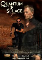 Quantum of Solace Poster by AlsusArt