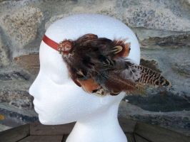 In The Wind Headdress Headband by paradiseshoretwins