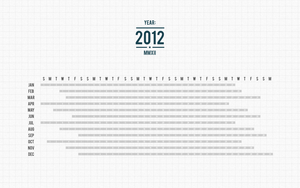 2012 Calendar Wallpaper by ILikePixels