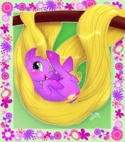 Pony Princess-Rapunzel by uppuN