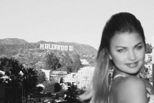 Hollywood Sign by CelesteGallery