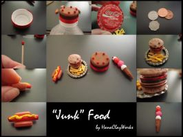 Junk Food - Competition Entry by HanaClayWorks