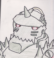 Alphonse Elric by pungender