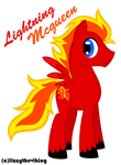 MLP: lightning mcqueen by lizzytheviking