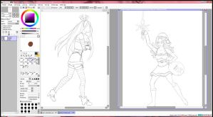 League of Legends Christmas art work in progress!! by Lilmos