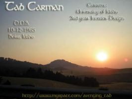 Tab Carman by avenging-tab