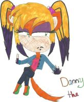Danny the Coyote by Sasha-the-Hedgie