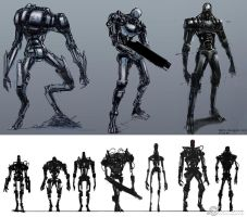 Terminator Salvation Concepts by viktor9ov