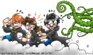 HP: Herbology gone Wrong by rinacat