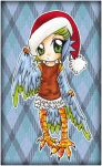 :: Merry Christmas - Male Harpy :: by oliko