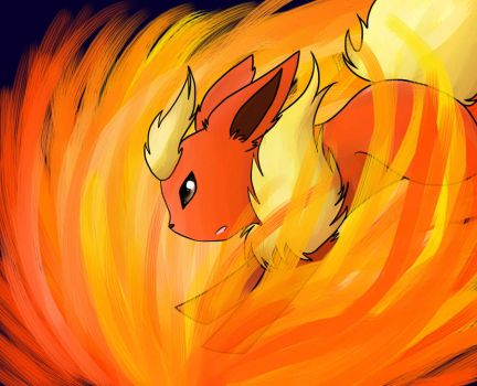 Flareon by Jes-and-Flight