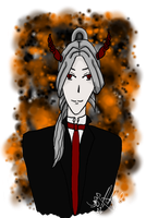 Demon Butler at your service by ChestnutGroveAdopts