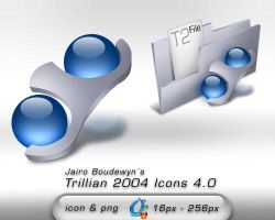 Trillian 2004 Icons 4.0 by weboso